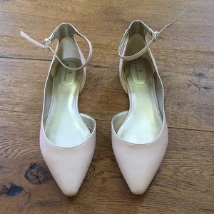 Bandolino ankle strap ballet flats 9